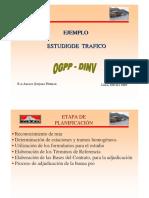 Ejemplos de TRAFICO