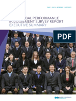 2013 Global Performance Management Survey Report