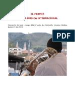 Fervor por la Música Internacional