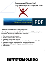 Intern Guidance_research Proposal