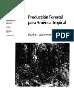Libro-Produccion Forestal Para America Tropical-frank Wadsworth