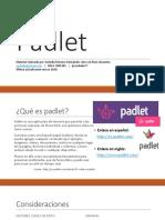 Presentando a Padlet. Nueva Interfaz (2018)