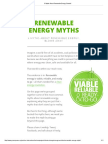 6 Myths About Renewable Energy, Busted!