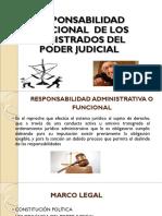 Responsablidad Funcional Magistrados Del PJ
