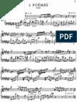 Scriabin - Op.32 Poems
