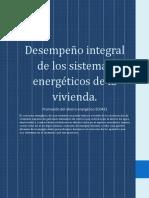 Desempeño Integral de Los Sistemas Energéticos de La Vivienda