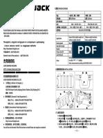 Manual Operation Jack A4S
