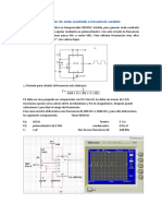 Generador de Onda Cuadrada a Frecuencia Variable