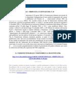 Fisco e Diritto - Corte Costituzionale n 18 2010