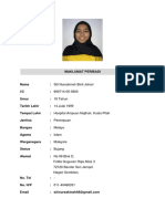 Biodata Siti Nursakinah