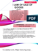 Sale of Goods (Malaysia)