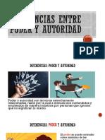 Diferencias entre Poder y Autoridad