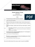 Marine Industry Forum Program Eng