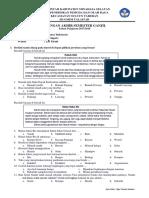 Soal UAS Kelas 4 Bahasa Indonesia