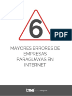 eBook 6 Mayores Errores de Empresas Paraguayas en Internet
