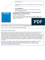 Position and Stiffness Analysis of a New Asymmetric 2PRR–PPR Parallel CNC Machine 2013