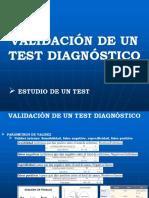 Validación de Un Test Diagnóstico