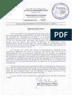 Umali bill to postpone barangay elections