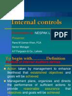 Nternal Control Systems
