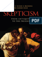 Diego e Machuca Skepticism From Antiquity to the Present 1
