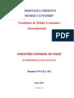 Cercetări Ofensive de Piaţă