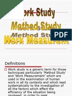 Work Study-