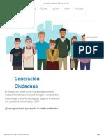 Generación Ciudadana - Gobierno de Chile