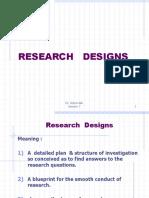 Research Designs 7