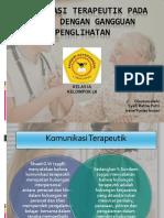 Komunikasi Terapeutik Pada Klien Dengan Gangguan Penglihatan