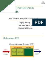 12. Fuzzy Inference System Metode Mamdani Metode Sugeno