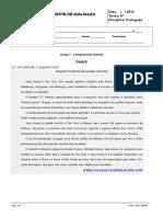 Teste Noticia e Texto Expositivo 6º Ano