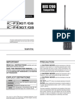 Icom IC-F33GT_F43GT Instruction Manual