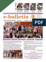 SGI Bulletin August 2013 1