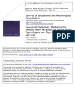 Gutkin - 2012 - Ecological Psychology Replacing the Medical Model Paradigm for School-based Psychological and Psychoeducational Ser
