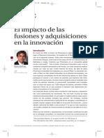 El Impacto de Las Fusiones y Adquisiciones en La Innovacion