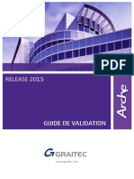 Arche 2015 - Guide de Validation