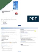 RTN 320 V100R008 Quick Installation Guide 02