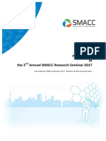 Proceedings of the 2nd Annual SMACC Reserch Seminar 2017