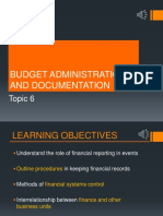 BE2707 Topic 6 Budget Admin Ppt Online HBLWEEK