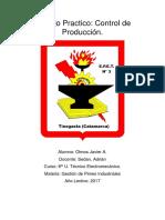 Control de Produccion.