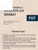 Audit Internal Penentuan Risiko-Agustina Isviandari(21501082001)