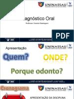 aula1 Apresentação Diagnóstico Oral