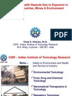 Vinay K Khanna - Occupational Health(Rajendra)