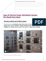 Types of Electrical Power Distribution Systems You Should Know About _ EEP