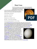 Deskripsi Planet Venus