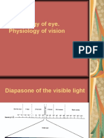 Physiology of Eye. Physiology of Vision