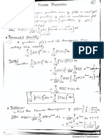 Fourier Transform Someone's Class Notes