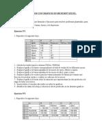 Ejercicios de Formulas y Funciones Para La Creación de Graficos