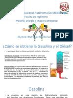 Gasolina y Disel