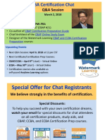 IIBA Cert Chat Slides March 2018